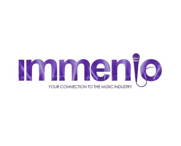 immenio logo design by Number Violet