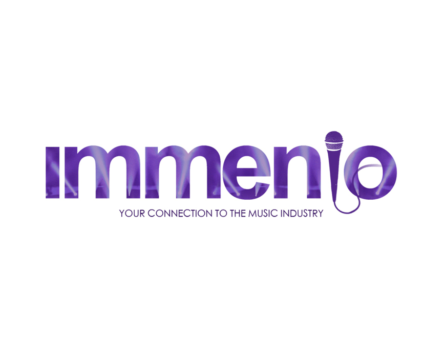 immenio logo design by Number Violet