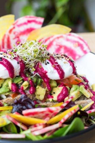 Food Photography - Number Violet