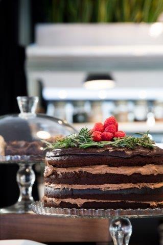 Cake Photography - Number Violet