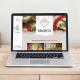 Italian Restaurant website by Number Violet