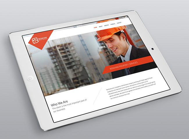 Bonham Property Services Website by Number Violet