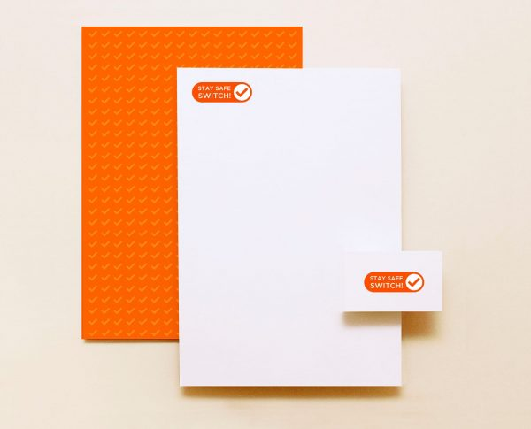 Stay Safe, Switch: Brand Design & Motion Graphics by Number Violet