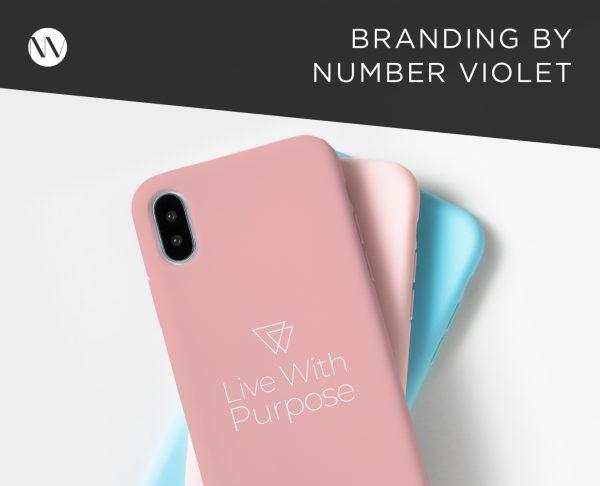 Live With Purpose - Number Violet Brand Design Website Development
