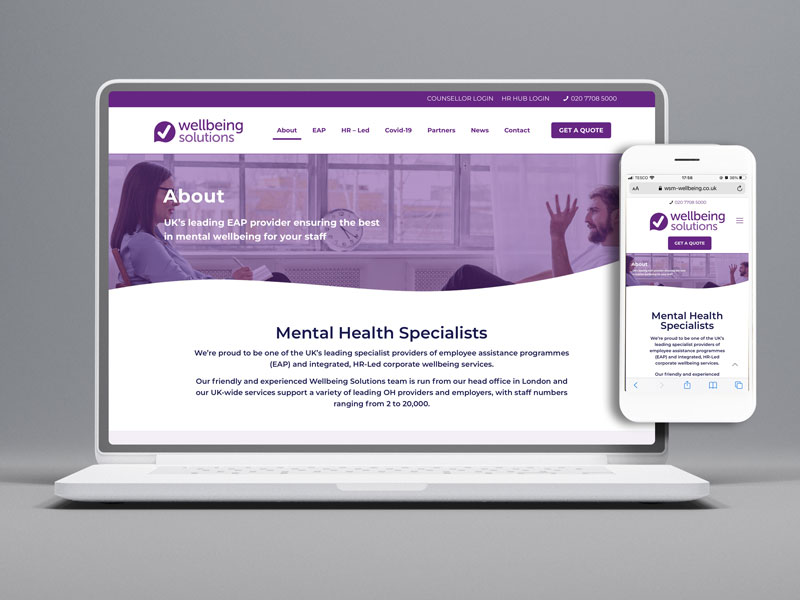 Wellbeing-Solutions-Website-Development-by-Number-Violet-Marketing-Agency-